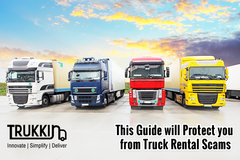 This Guide will Protect you from Truck Rental Scams